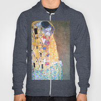 Love & The Kiss - Gustav Klimt Hoody by BeautifulHomes