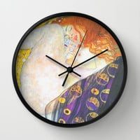 Love & Transcendence - Gustav Klimt Wall Clock by BeautifulHomes