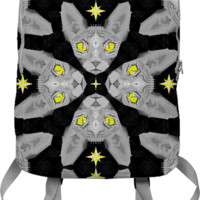 Sphynx Cat Black Pattern