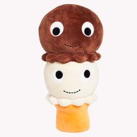 "Double Scoop Twins 16"" Large Plush Ice Cream Cone 