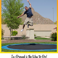 In-GroundTrampolines.com | Ground Level Installation | Trampoline System