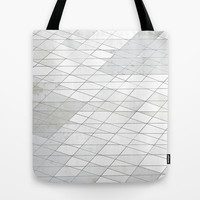 Old Tile Tote Bag by DuckyB (Brandi)