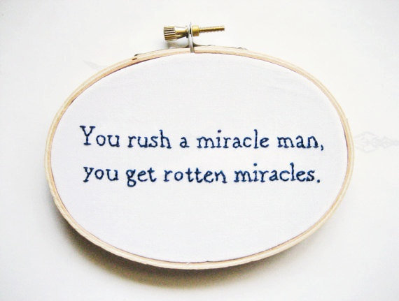 $26.00 The Princess Bride Embroidery Hoop Philosophical by OooohStitchy