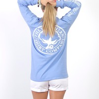 Seaside Logo Tee L/S