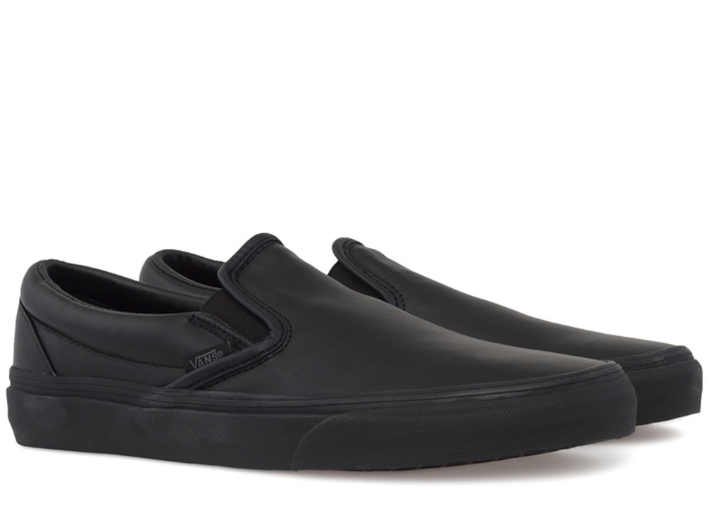 vans slip on leather vn 0lyfl9m from gravitypope shoes and. Black Bedroom Furniture Sets. Home Design Ideas
