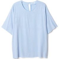 Petra solid blouse | Tops | Weekday.com