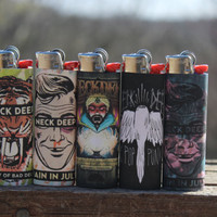 Neck Deep Full Size Lighters