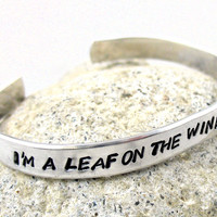 I'm a Leaf on the Wind, Watch How I Soar - Firefly Bracelet