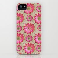 Colorful Floral Pattern iPhone & iPod Case by Danflcreativo