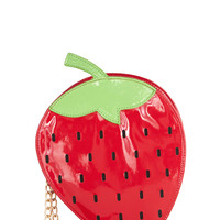 Strawberry Feels Forever Bag | Mod Retro Vintage Bags | ModCloth.com