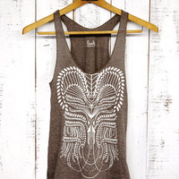 Eden Tank womens triblend tank by Bark Decor by barkdecor