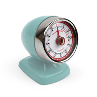 Kikkerland Design Inc » Products » Vintage Streamline Kitchen Timer + Blue