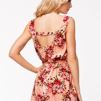 FLOWER PRINTED PLAYSUIT