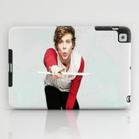 Ashton on teen now iPad Case by kikabarros