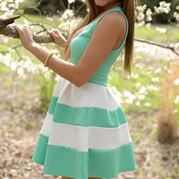 Drops Of Jupiter Dress, Mint