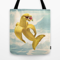 Fruit Fish Tote Bag by Josh Franke | Society6