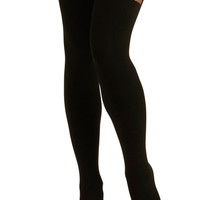 Suspends Thriller Tights | Mod Retro Vintage Tights | ModCloth.com