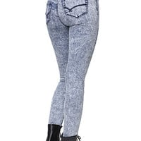 Bullhead Denim Co High Rise Poison Acid Jeggings at PacSun.com
