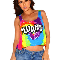 Plurnt Tie Dye Crop Top