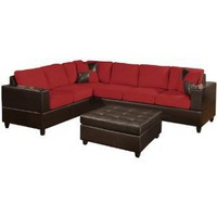 Bobkona Trenton Sectional Sofa (sectional sofa only)