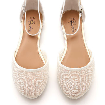 Sweet Sixteen Flats - Lacey Shoes at Pinkice.com