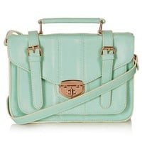 Topshop Turnlock Faux Leather Satchel | Nordstrom