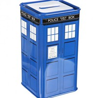Doctor Who Tardis Money Box : TruffleShuffle.com