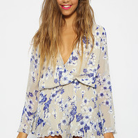 Field Days Playsuit - Beige