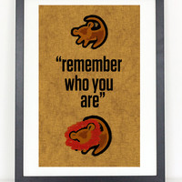 Remember Who You Are - Lion King