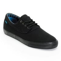 Earl Sweatshirt x Lakai Camby All Black Canvas Skate Shoe