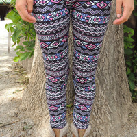 Steel Candy Leggings - VIRGINIA FIELDS