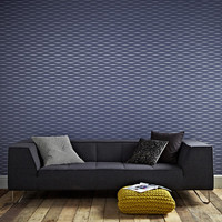 Graham & Brown Odyssey Lucid Geometric Stripes Wallpaper