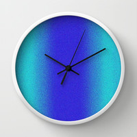 Re-Created Interference ONE No. 14 Wall Clock by Robert S. Lee