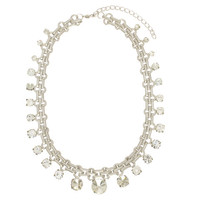 Crystal Strands Necklace