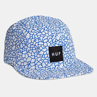Huf Quake 5-Panel Cap - White at Urban Industry