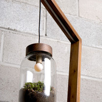 Terrarium Floor Lamp by AutumnWorkshop on Etsy