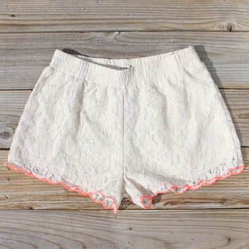 Mountain Laurel Lace Shorts
