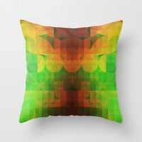 Spring Throw Pillow by SensualPatterns