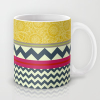 New York Beauty stripe Mug by Sharon Turner | Society6