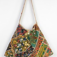 Love Sam Embroidered Mirrors Market Hobo Bag - Urban Outfitters