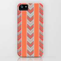 Chevron Stripes iPhone & iPod Case by Whitney Werner