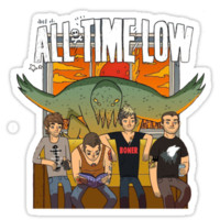 All Time Low Don't Panic Album Cover