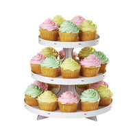 Wilton 1512-127 3-Tier White Cupcake Treat Stand