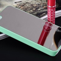 Mirror Face Hard Case Cover for iPhone 5 5S