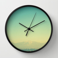 Adventures and I Love You Wall Clock by RichCaspian | Society6