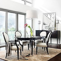 "Hudson Park ""Metro"" Dining Room - Dining Room Collections - Bloomingdales.com"