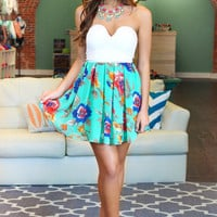 Bermuda Breeze Dress - Mint