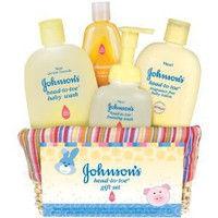 Johnson&#x27;s Baby Gift Set, Head-to-Toe Basket