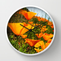 Roadside Beauty Wall Clock by DuckyB (Brandi)
