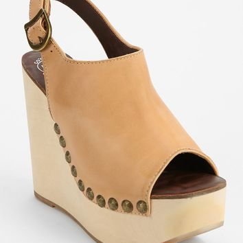 Jeffrey Campbell Snick Peep-Toe Platform Wedge Sandal - Urban Outfitters